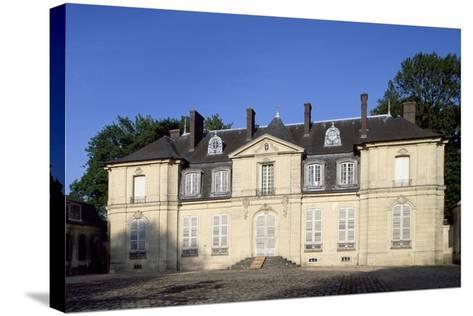 Facade of Chateau De Jossigny, Ile-De-France, France--Stretched Canvas Print