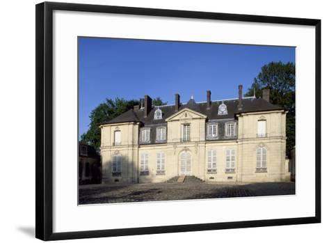 Facade of Chateau De Jossigny, Ile-De-France, France--Framed Art Print