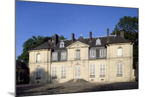 Facade of Chateau De Jossigny, Ile-De-France, France--Mounted Giclee Print