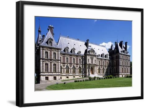 Chateau De Villersexel, Franche-Comte, France--Framed Art Print