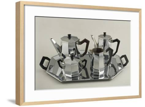 Silver Tea and Coffee-Service--Framed Art Print