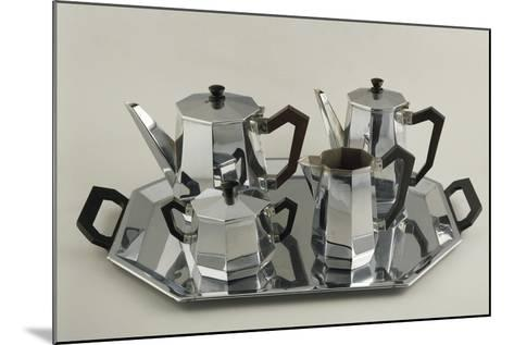 Silver Tea and Coffee-Service--Mounted Giclee Print