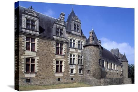 View of Chateaubriant Castle, Pays De La Loire, France--Stretched Canvas Print