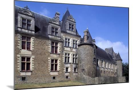 View of Chateaubriant Castle, Pays De La Loire, France--Mounted Giclee Print