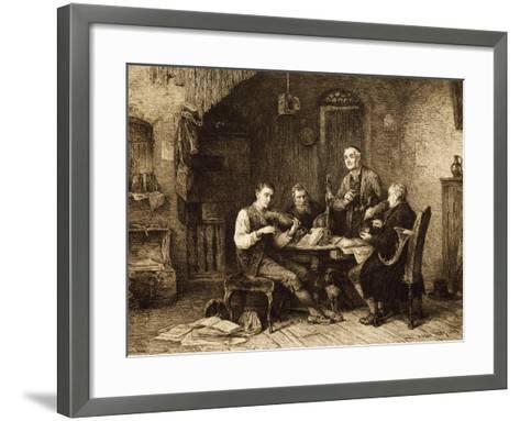 Quartet of Amateurs, Hungary--Framed Art Print