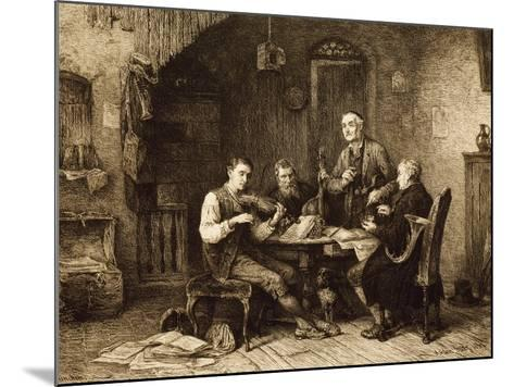 Quartet of Amateurs, Hungary--Mounted Giclee Print