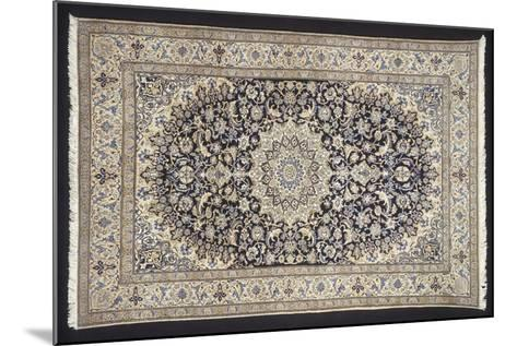 Rugs and Carpets: Iran - Nain-Seilah Carpet--Mounted Giclee Print