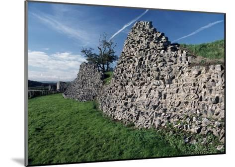 Roman Walls in Caerwent, Wales, United Kingdom--Mounted Giclee Print