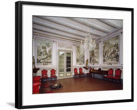 Ballroom, Romantic Museum, Sitges, Spain--Framed Art Print