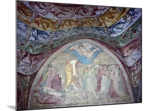 15th Century Frescoes in Chapel of Angels in Monastery of St Scholastica, Italy--Mounted Giclee Print