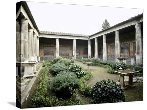 Italy, Pompeii, House of Vetti, Domus, 1st Century AD--Stretched Canvas Print
