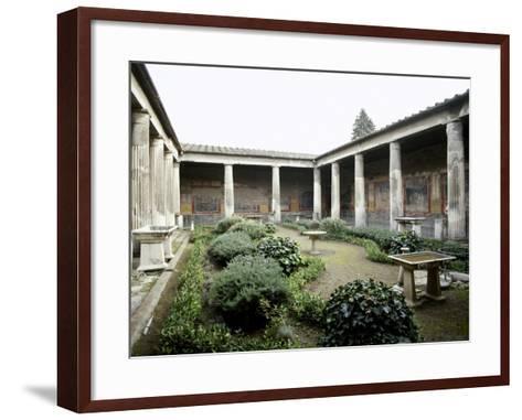 Italy, Pompeii, House of Vetti, Domus, 1st Century AD--Framed Art Print