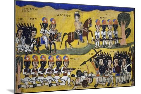 Police Force in Colony--Mounted Giclee Print