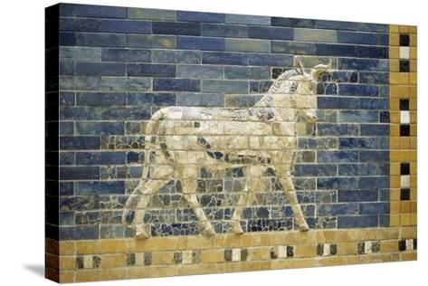 Bas-Relief of Horse Along Processional Way--Stretched Canvas Print