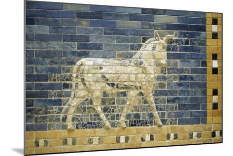 Bas-Relief of Horse Along Processional Way--Mounted Giclee Print