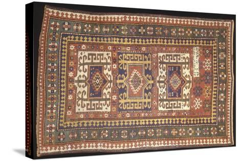 Rugs and Carpets: Soviet Union - Carpet Detail--Stretched Canvas Print