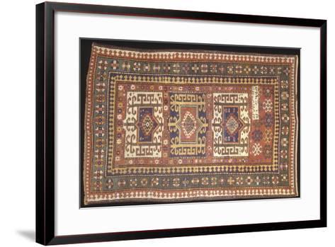 Rugs and Carpets: Soviet Union - Carpet Detail--Framed Art Print