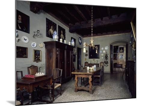 Italy, Lonato, Ugo Da Como Foundation, Casa Del Podesta, Dining Room--Mounted Giclee Print