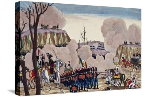 Battle of Caldiero Won by General Massena over Prince Charles, October 30, 1805--Stretched Canvas Print