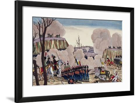 Battle of Caldiero Won by General Massena over Prince Charles, October 30, 1805--Framed Art Print