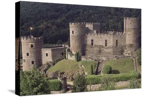 Fortified Chateau De Chouvigny, Auvergne, France, 13th Century--Stretched Canvas Print