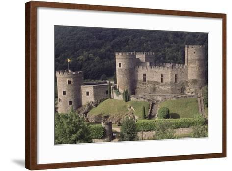Fortified Chateau De Chouvigny, Auvergne, France, 13th Century--Framed Art Print