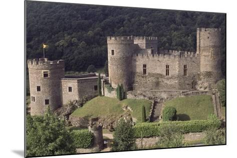 Fortified Chateau De Chouvigny, Auvergne, France, 13th Century--Mounted Giclee Print