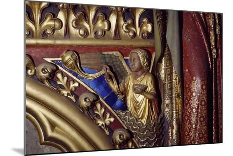 Angel, Wooden Relief from the Upper Chapel of the Holy Chapel, Paris, Ile-De-France, France--Mounted Giclee Print