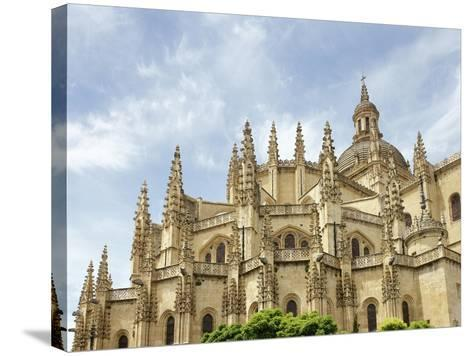 Gothic Art, Spain, Segovia, Cathedral, 16th Century, Exterior, Detail--Stretched Canvas Print