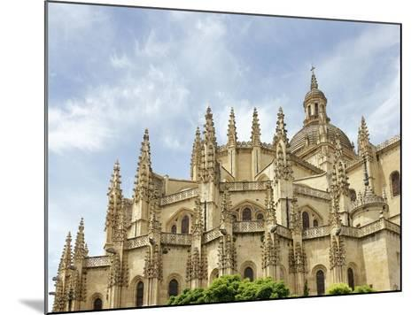 Gothic Art, Spain, Segovia, Cathedral, 16th Century, Exterior, Detail--Mounted Giclee Print