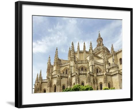Gothic Art, Spain, Segovia, Cathedral, 16th Century, Exterior, Detail--Framed Art Print