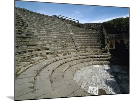 Italy, Pompeii, Small Theatre or Odeon, 1st Century B.C.--Mounted Giclee Print