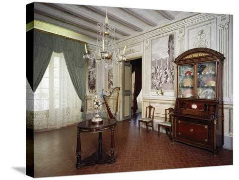 Music Room, Romantic Museum, Sitges, Spain--Stretched Canvas Print