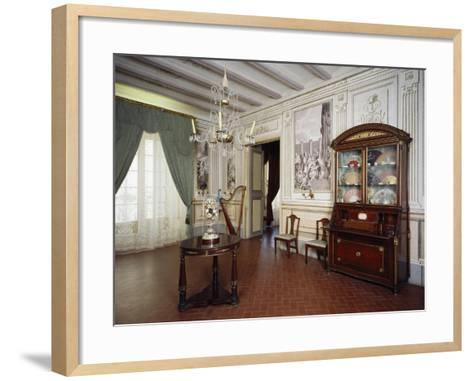 Music Room, Romantic Museum, Sitges, Spain--Framed Art Print