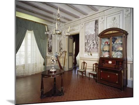 Music Room, Romantic Museum, Sitges, Spain--Mounted Giclee Print