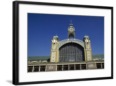 Art Nouveau Building from 1891 Fair, Prague, Bohemia, Czech Republic--Framed Art Print