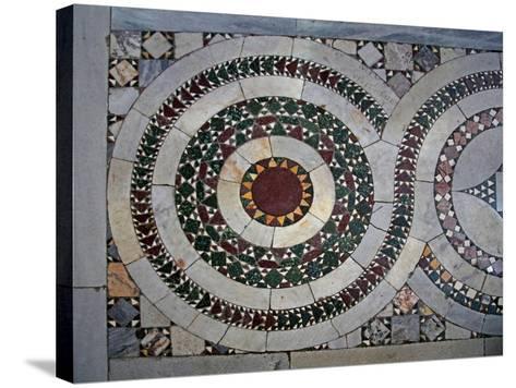 Cosmati Pavement--Stretched Canvas Print