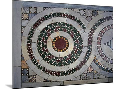 Cosmati Pavement--Mounted Giclee Print