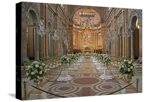 The Nave--Stretched Canvas Print