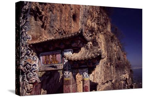 The Dragon Gate Near Kunming, Yunnan, China--Stretched Canvas Print
