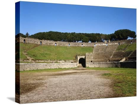 Amphitheater, Pompeii, Italy--Stretched Canvas Print