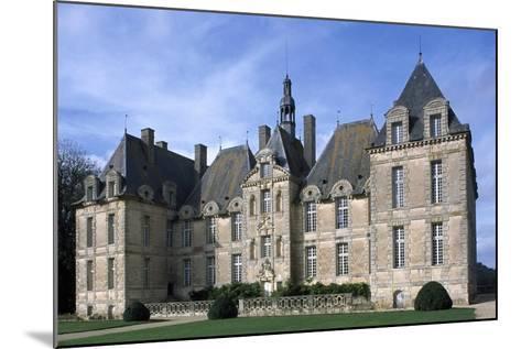 Facade of Chateau De Saint-Loup, Saint-Loup-Lamaire, Poitou-Charentes, France--Mounted Giclee Print