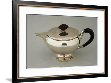 Silver Teapot, Design by Argenteria Fratelli Alignani, Approximately 1935--Framed Art Print