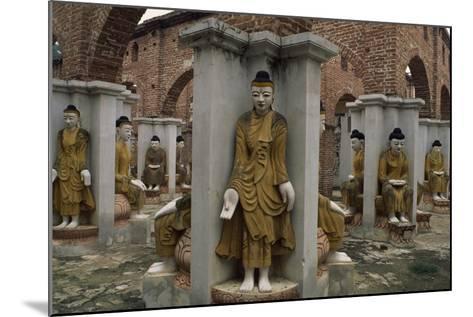 Myanmar, Amarapura, Kyauktawgyi Pagoda--Mounted Giclee Print