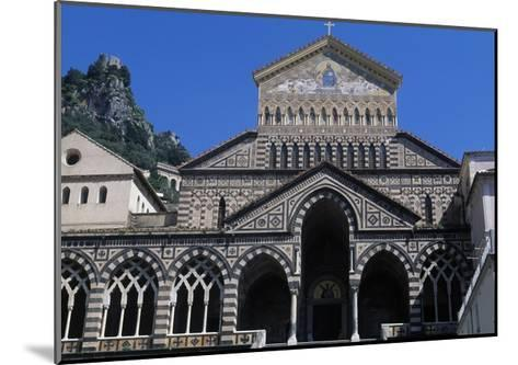 View of St Andrew's Cathedral, Amalfi, Campania, Italy--Mounted Giclee Print