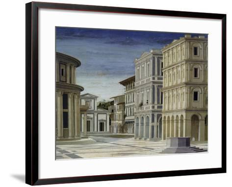 The Ideal City, 1480-1490,--Framed Art Print