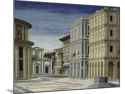 The Ideal City, 1480-1490,--Mounted Giclee Print