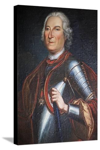 Portrait of Henry Marquis of Carion-Nissas, Castle of Lezignan Le Cebe--Stretched Canvas Print