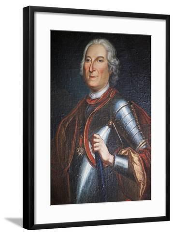 Portrait of Henry Marquis of Carion-Nissas, Castle of Lezignan Le Cebe--Framed Art Print