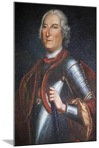 Portrait of Henry Marquis of Carion-Nissas, Castle of Lezignan Le Cebe--Mounted Giclee Print